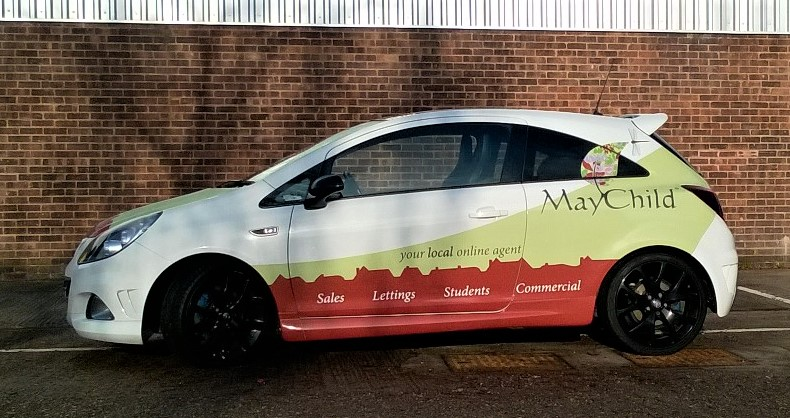 Vehicle graphics and wraps – Vinyl By Design – Sign writers in Coventry