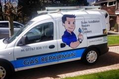 gas repair van