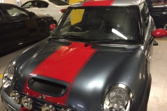 red racing stripe